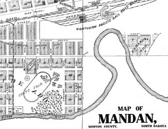 Mandan State Fair Ground Location