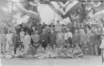 July 1924 Dedication Attendees