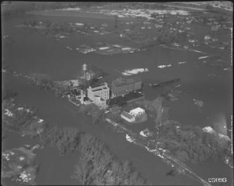USGS Aerial Photo March 1943 Flooding