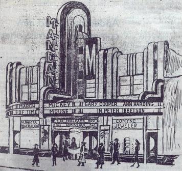 Wanganui movie theatre
