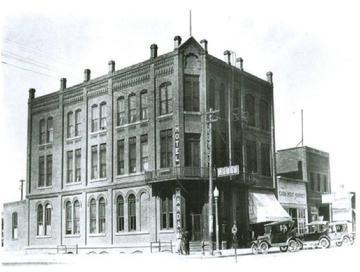 John Christenson Mandan Hotel 1924